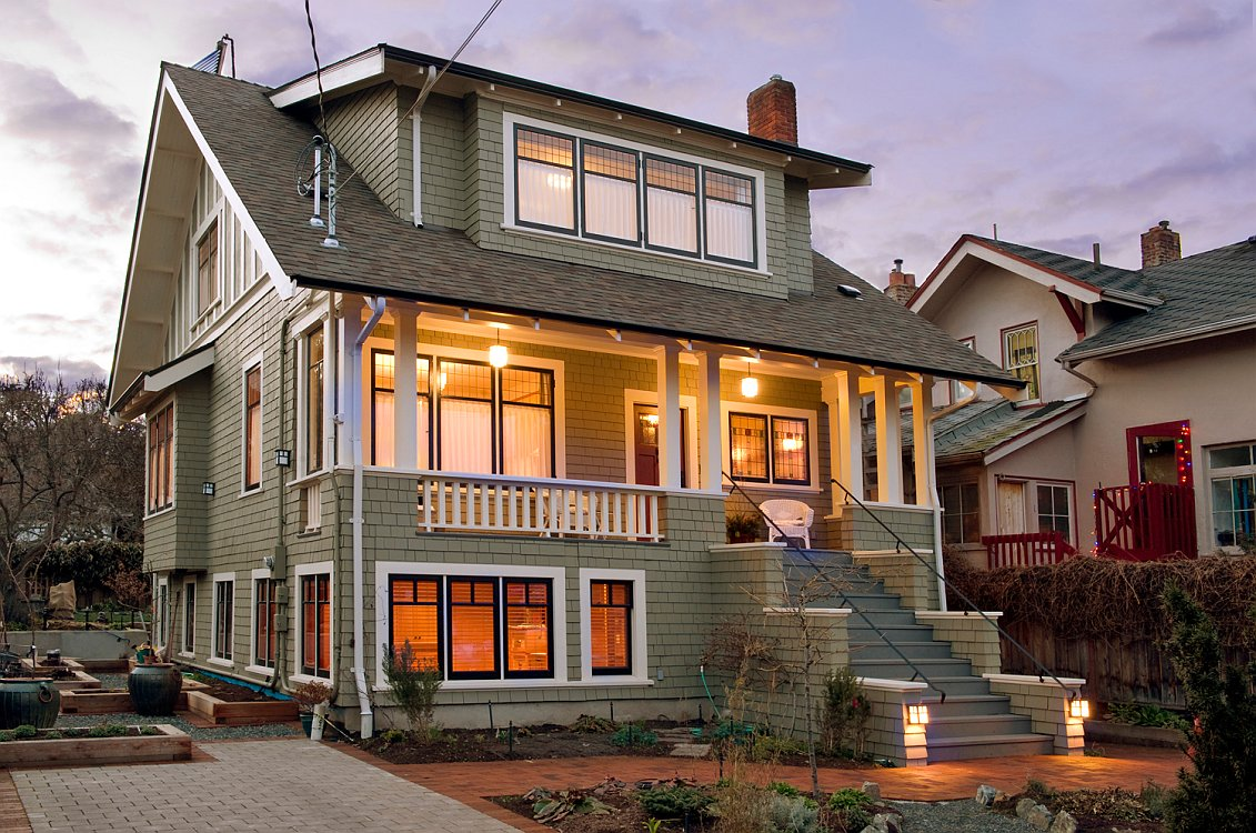 environmentally friendly renovation for heritage home