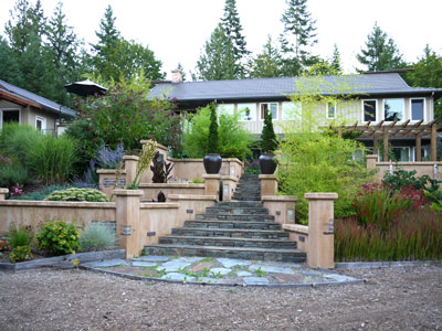 landscape design finished vancouver island