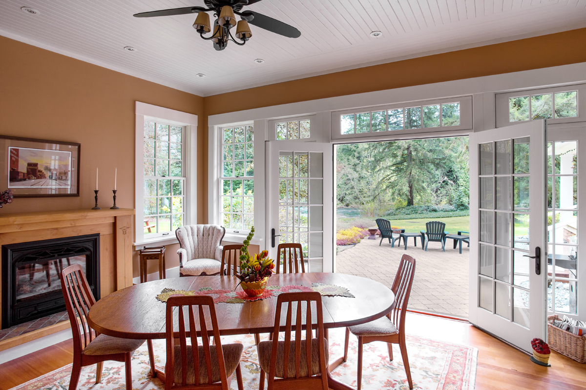 dining room:patio - Riverside Heritage Renovation