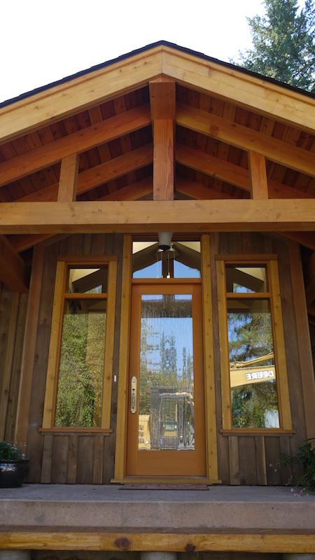 exterior-front door - Glenora Residence