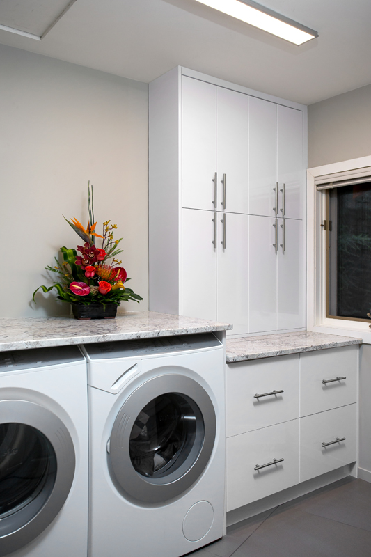 laundry room - Oceanfront Renovation