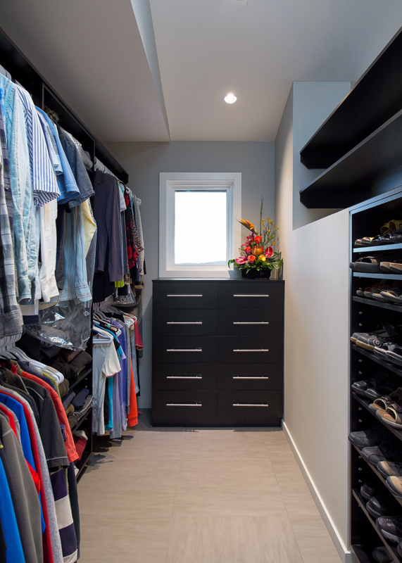 walk in closet - Oceanfront Renovation